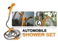 Автомобильный душ Automobile Shower Set,  авто-душ от прикуривателя