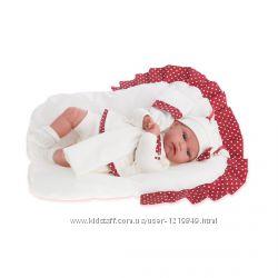 Кукла младенец Молли 34 см озвученная, Antonio Juan 7034