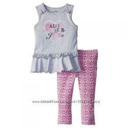 Летний комплект на девочку от  Calvin Klein Jeans, 5-6лет
