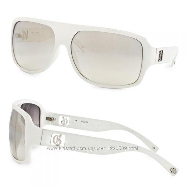 Cолнцезащитные очки от Guess, оригинал, 2 модели, белые и чёрные