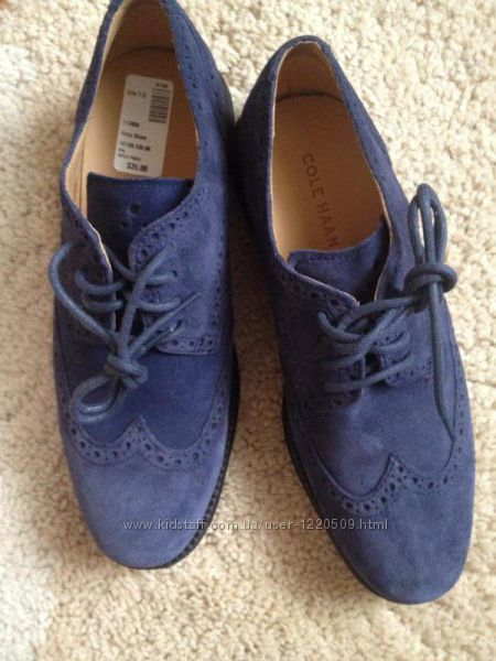 Замшевые туфли от cole haan nike air technology