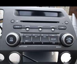 Магнитофон на Хонду Сивик Штатная магнитола Honda Civic 4D