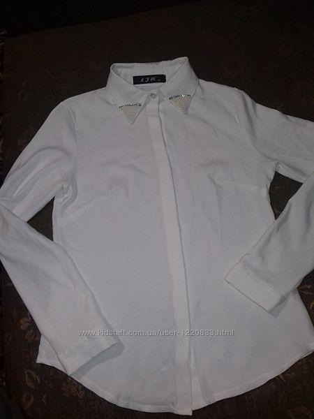 Біленька-блузочка-сорочечка для школи