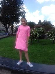 Натуральне літьнє спортивне платтячко