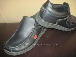 Туфли полуботинки Kickers Франция 31 размер кожа натуральная