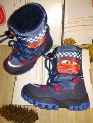 Зимние сапоги для мальчика disney mcqueen от cool club польша 26