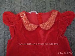 Красивое платье, 4-6 лет