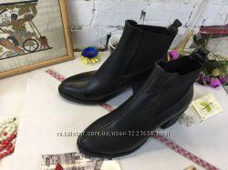 Кожаные ботинки, 38-39 размер