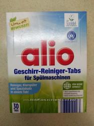 Таблетки Alio для посудомойки