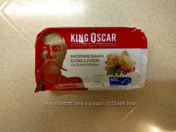 Печень трески King Oscar