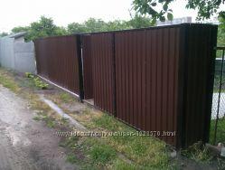 Установка дверей, ворота, железные гаражи