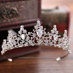 Диадема корона   для девочки на  утренник, день рождения