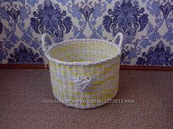 Корзина плетёная для белья, игрушек, хранения