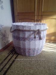 Большая корзина  для игрушек белья хранения декора