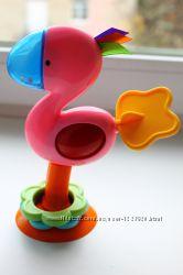 Развивающая игрушка погремушка на присоске от Fisher Price на столик