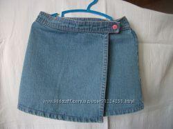 Юбка джинсовая для девочки, на 110 см.