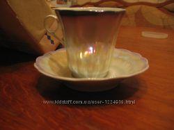 Фарфоровый набор кофейный на 6 персон
