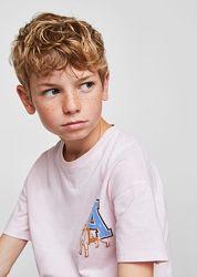 Стильная футболка от Mango мальчику  7-8лет, новая с биркой