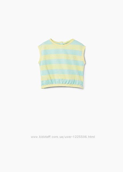 Стильная футболка от Mango девочке 2-3и 3 - 4 года, новая с биркой