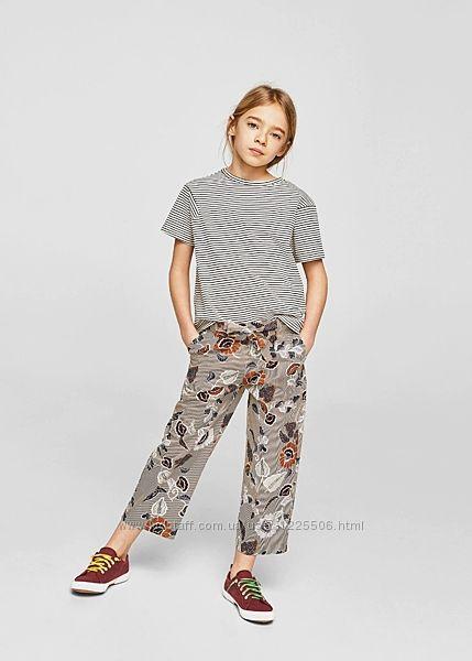 Очень классная, стильная футболка от Mango девочке 5-6 и 6-7 лет, новая с б