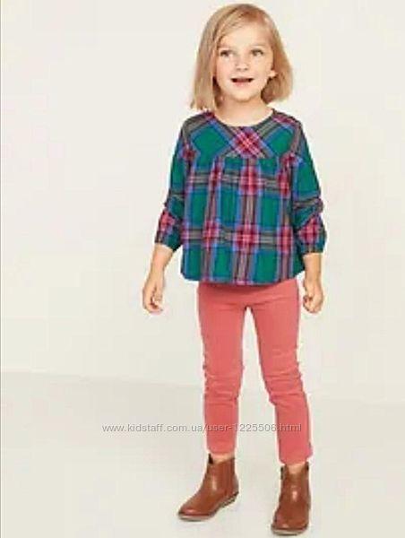 Лёгкая рубашечка old navy девочке 4 года
