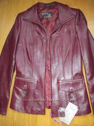 Нова шкіряна кожаная куртка, заміри