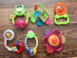 Погремушки Chicco Simba Taf Toys Canpol цена разная