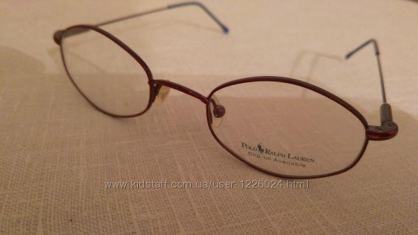 Оправа детская очки Ralph Lauren 44-19-130 метал очень лёгкая ширина 107 мм