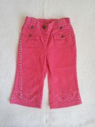 Вельветовые штаны Gymboree  на девочку 12-18 мес. в идеале