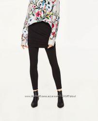 Стильные лосины с юбкой Zara