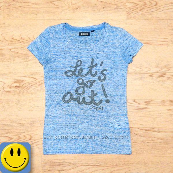Легкая футболка Blue seven 10 лет, 140 см.  для девочки, Ге