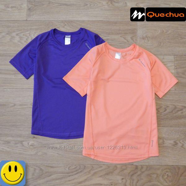 Спортивные футболки Quechua 8-9 лет, 128-134 см. сток, для девочки