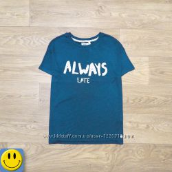 Легкая мужская футболка вискоза Anti blue р. M.