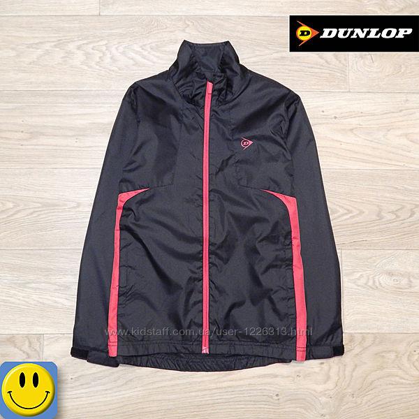 Легкая непромокаемая ветровка Dunlop 7-8 лет, 122-128 см. Идеальное состоян