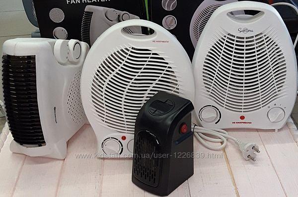 Тепловентилятор, дуйка, обогреватель 1000Вт и 2000Вт