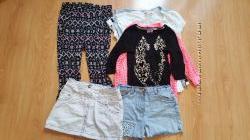 Пакет вещей на девочку рост 128-134