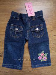 Новые джинсы, 12 мес. и  реглан Childrens Place, 12-18 мес.