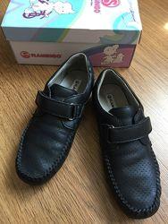 Черные туфли, Flamingo Фламинго , 35 размер, стелька 22,4 см