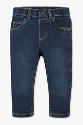 Джинсы штаны брюки 86 92 сині джинси стрейчевые универсальные темные синие
