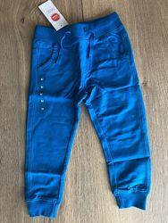 Штаны 92 брюки синие однотонные cool club штани