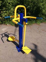 Уличный тренажер Твистер-Маятник RM-03 для отводящих и приводящих мышц бедр