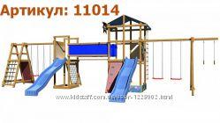 Дитячий майданчик ігровий спортивний гірка. Детская площадка игровая компле