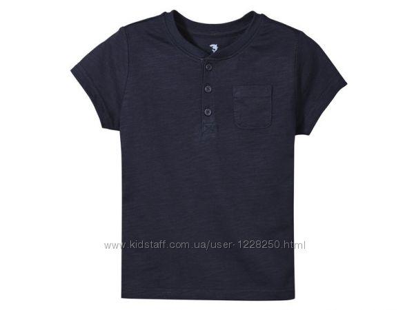 Хлопковая футболка на мальчика Lupilu Германия