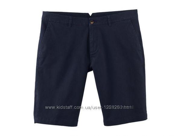 Хлопковые мужские шорты твил, бермуды Livergy Германия