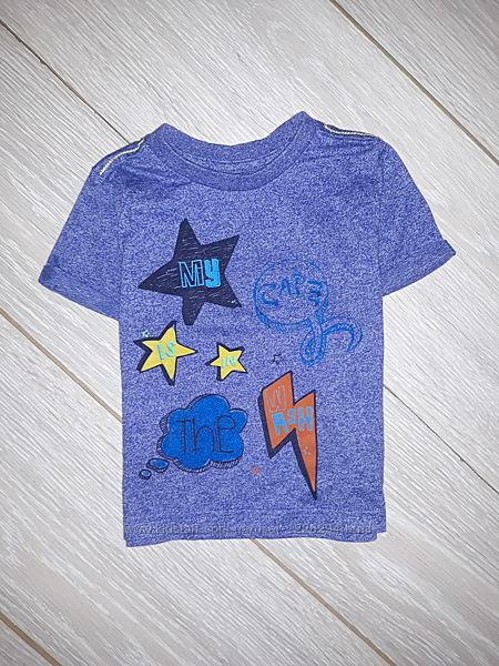 Яркая футболка Mothercare на 12-18 мес