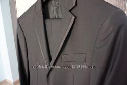 Мужской костюм Италия 48-50 L рост 176 см классический шерсть