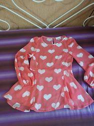 Нарядная блуза на девочку