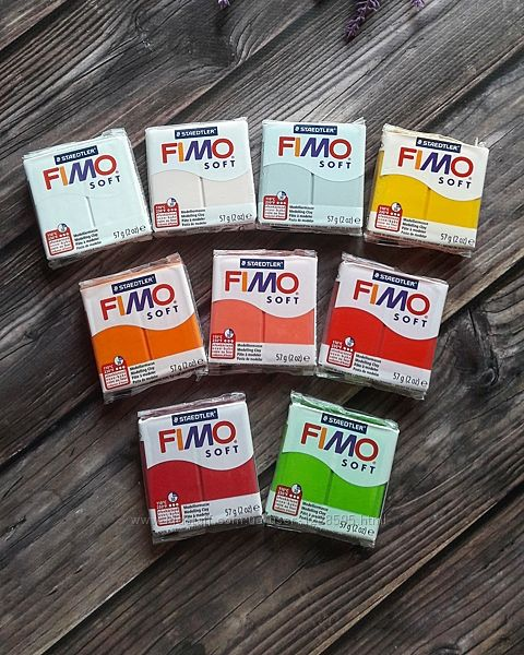 Полимерная глина Fimo Soft, 57 грамм