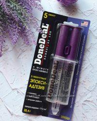 Эпоксидный клей DONEDEAL DD6561 5-минутный прозрачный 28, 4 Г.