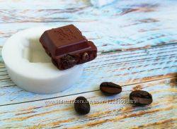 Молд силиконовый Шоколад Ritter sport с орешками